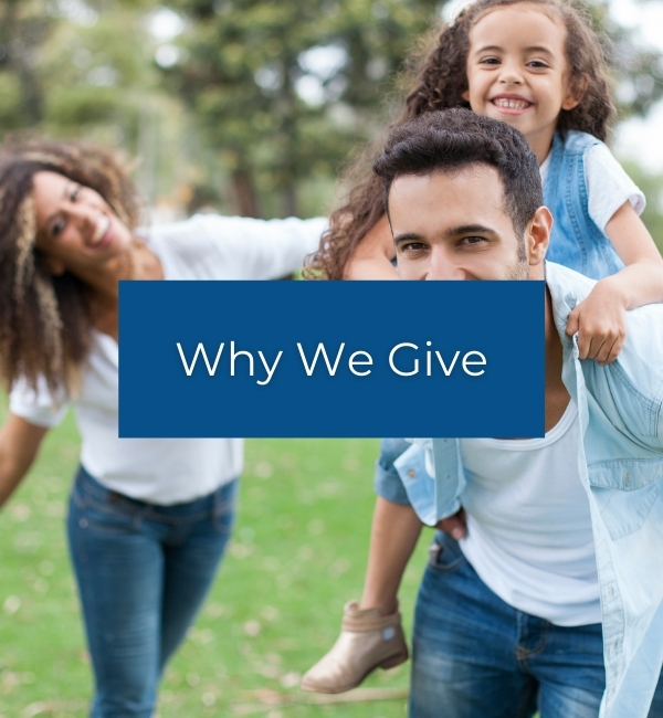 we we give